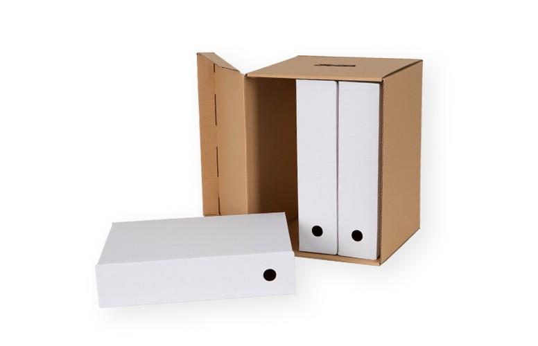 opakowania do biura kartony archiwizacyjne w skrzynce