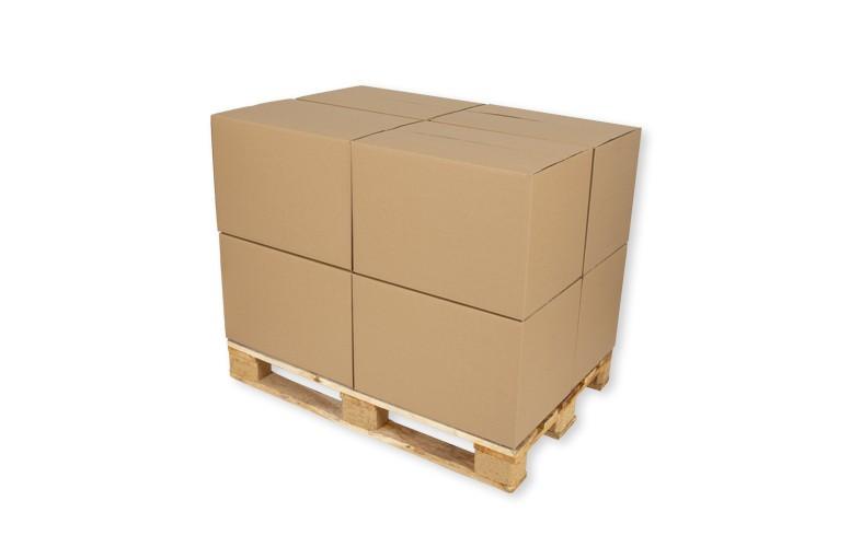 karton paletowy osiem kartonow na palecie