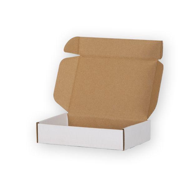 Pudełka fasonowe-Jednostronnie bielony-400x300x80 mm