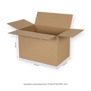 Karton klapowy 3-warstwowy-640x380x410 mm