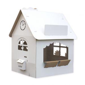tekturowy domek dla dzieci do malowania