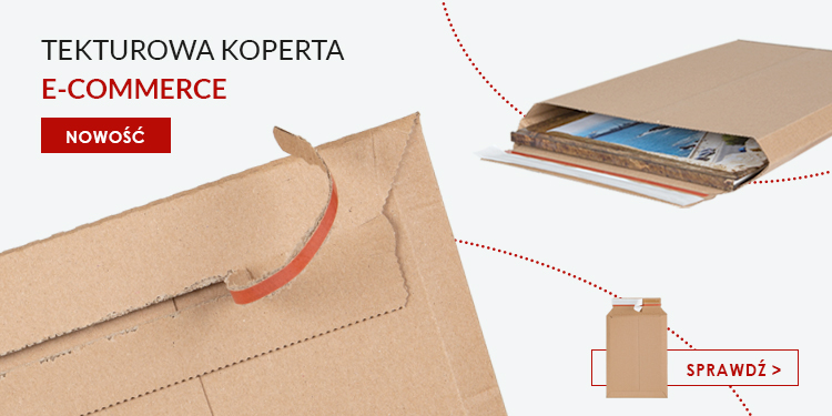 koperta tekturowe e-commerce